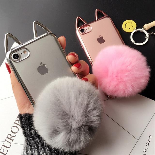 coque iphone 7 oreille de chat