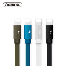 REMAX Kerolla RC-094i Cable de datos para iPhone Xs max XR X 8 7 6 8s 7s 6s 6 plus 5 5S SE iPad aire mini 2 2.1A de Cable de carga rápida de(China)