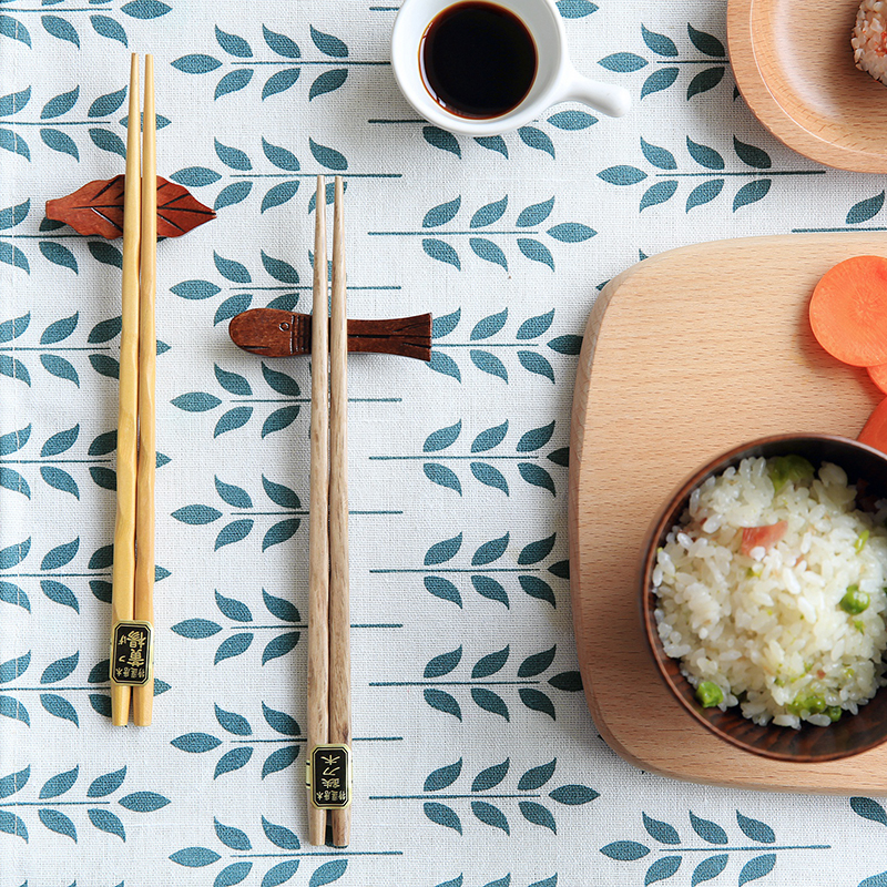 5 Pair Japan Style 5colors Natural Wooden Chopsticks Sushi Tableware - Kitchen, Dining and Bar - Photo 2