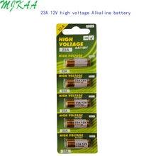 MJKAA 1Card 23AE A23S E23A EL12 3LR50 V23GA MN21 L1028 MS21 RV08 VR22 GP23A 21/23 K23A Alkaline Dry 23a 12v Battery 5x wama 23a 12v alarm remote dry alkaline battery 21 23 23ga a23 a 23 gp23a rv08 lrv08 e23a v23ga mn21 vr22 ms21 23ae