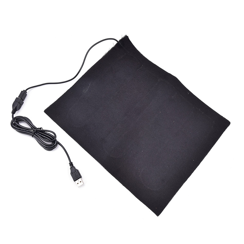 Image 5 - USB Fiber Heater Carbon Electric Heated Jacket Soft Cushion Winter Men Vest Heating Clothes Warmer Pads Keep Warm for mouse pad-in USB Gadgets from Computer & Office