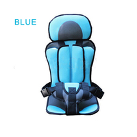 Convertible Portable Baby Safety Seat Children S Chairs In The Car Updated Version Thickening Sponge