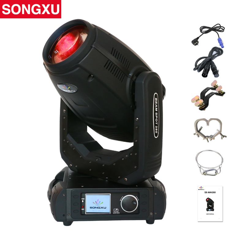 280W 10R Lyre Beam Spot Wash 3in1 Moving Head Light Beam 280 Beam 10R Stage Light/SX MH280-in Stage Lighting Effect from Lights & Lighting    1