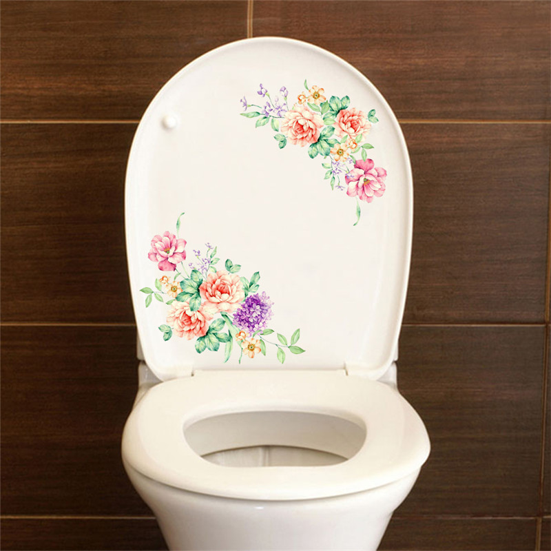 HTB1I41PmGagSKJjy0Fcq6AZeVXan romantic colorful peony flowers wall stickers art home decor pvc vinyl wall decals for kids living room toilet fridge decoration