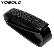 YOSOLO Portable Car Glasses Holder Storage Holder Sun Visor Sunglasses Eyeglasses Clip Glasses Cases Car Accessories