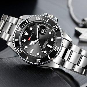 Image 5 - 남자 럭셔리 시계 브랜드 rolexable 방수 패션 간단한 아날로그 석영 손목 시계 스테인레스 스틸 밴드 시계 relogio