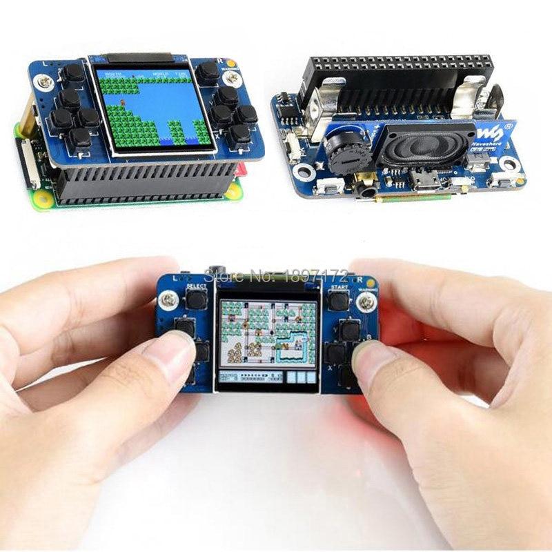 Waveshare 1 44inch LCD display HAT for Raspberry Pi 2B/3B/3B+/Zero/Zero  W,128x128 pixels,SPI interface,ST7735S driver