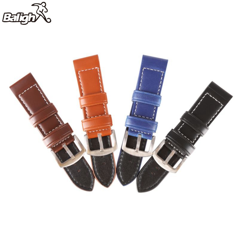 Strap 18MM 20MM 22MM 24MM 26MM Vintage Leather Fashion ...