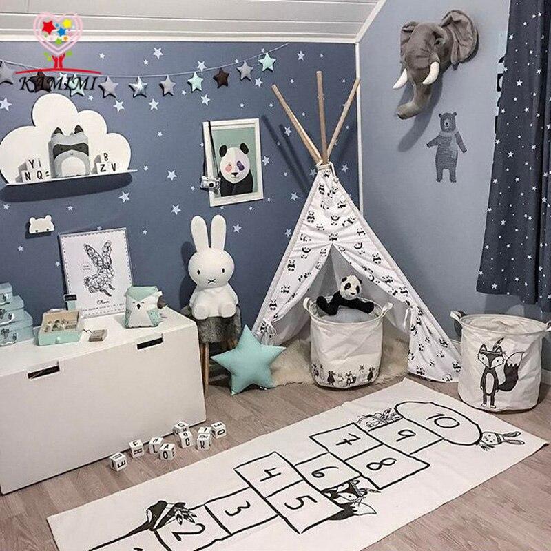 Us 17 39 20 Off Babydecke Digitale Haus Kriechende Matte Kamimi Kinder Spielen Teppich Baby Bettwasche Kinderwagen Baumwolle Decke Kinderzimmer