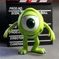 13 cm Monstro Universidade Mike PVC Toy Action Figure, 5.1 polegada Monstro Mike Wazowski Figura Dos Desenhos Animados Modelo, brinquedos Para As Crianças