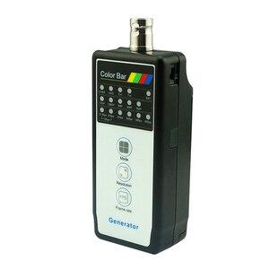 Image 5 - Farbe Bar Generator CCTV Kamera Tester CVBS AHD 5MP CVI 4MP TVI 5MP Kabel Linie Monitor Erkennung