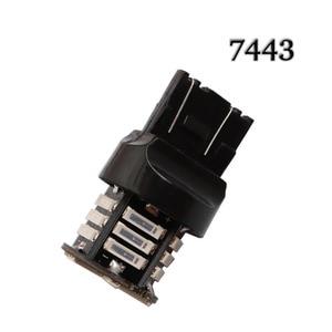 Image 4 - T20 7440 7443 21 SMD 7020 LED W21/5W W21W Auto Auto DRL Tagfahrlicht blinker bremse licht Rot Gelb Weiß 12V