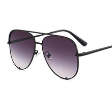 Gun Pink Silver Mirror Metal Designer Sunglasses