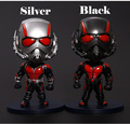 Marvel Ant man Antman PVC Action Figure Collectible Model Toy Christmas Gifts Car accessories 12cm Q Version Ant-man Big Head