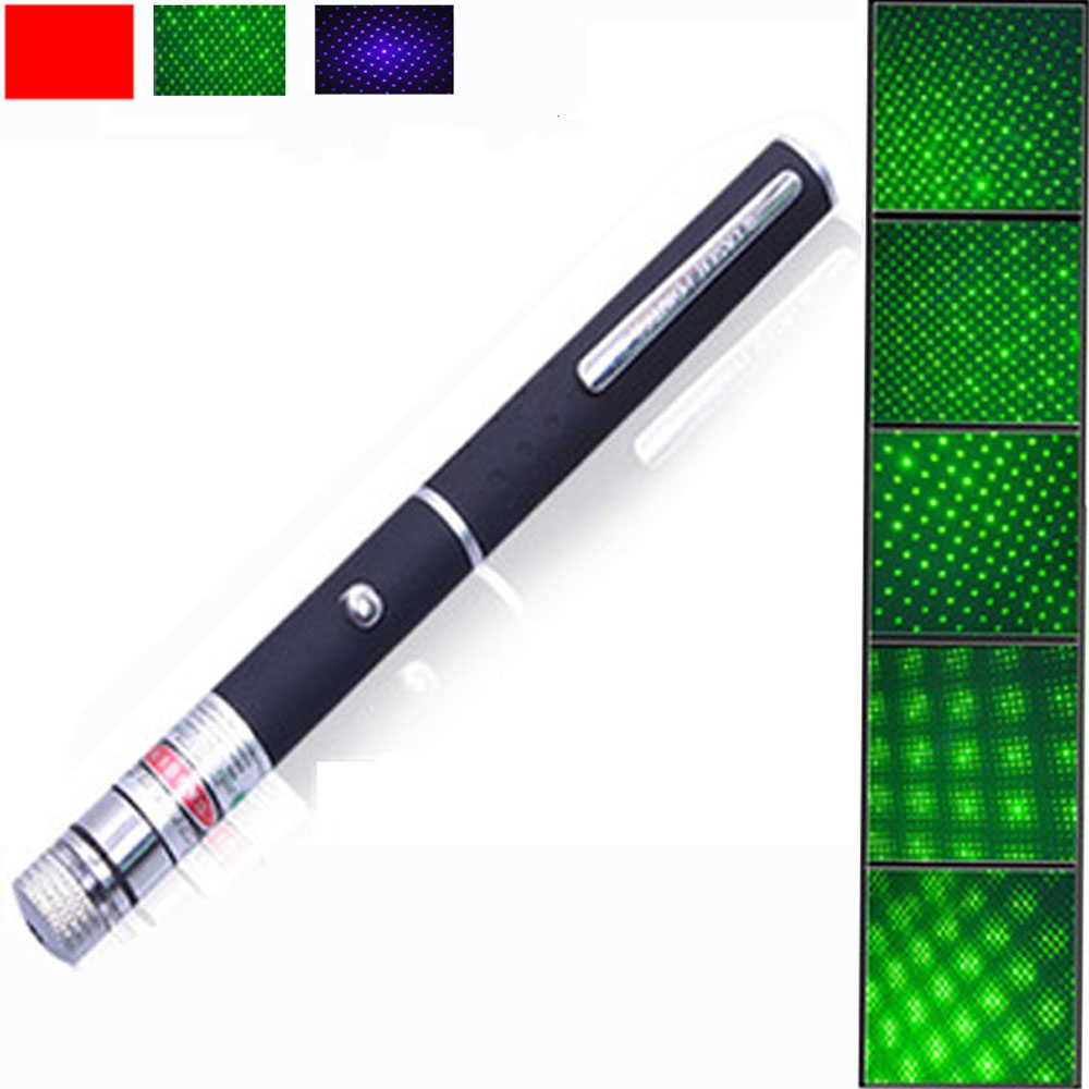 5mW 532nm Green Laser Pointer con puntero Light Para presentador - Caza