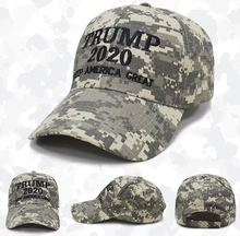 New Cotton Trump 2020 Keep America Great Camouflage Baseball Cap Outdoor Embroidery Camo Dad Hat Snapback Wholesale
