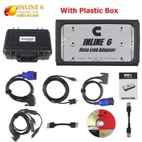 INLINE 6 Data Link Adapter Heavy Duty Diagnostic Tool Scanner Full 8 cable Truck Diagnostic interface inline6 inline 5