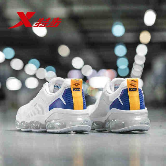 881119119210 Xtep 2019 новые весенние для мужчин спортивные спортивная обувь мужчин's lightwight подушка из вентилируемой ткани кроссовки