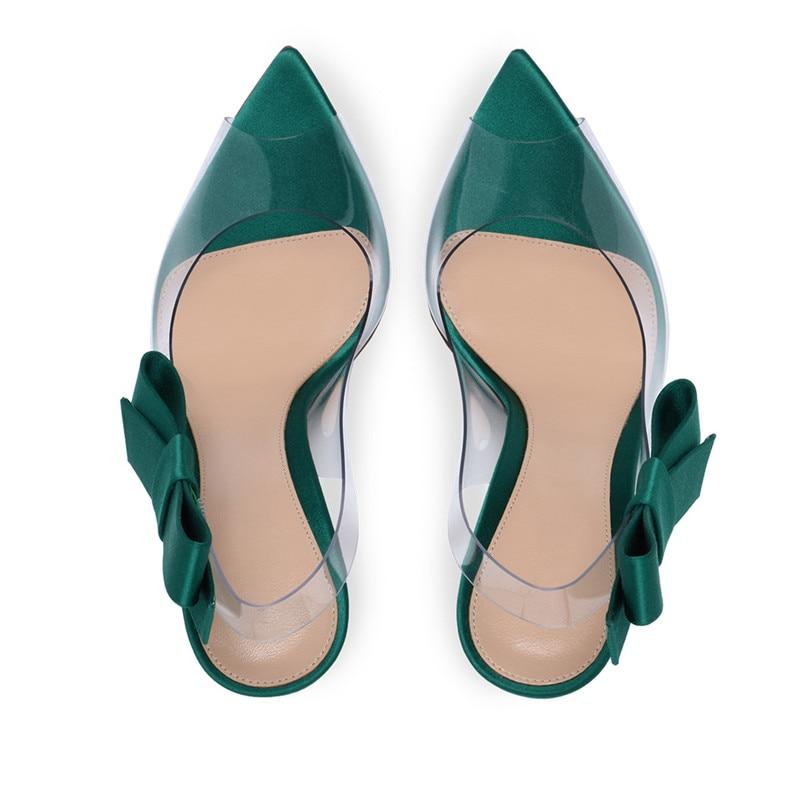 Fiesta Nuevo Señoras Mujeres Verano Zapatos verde Morazora Moda 2019 Altos Estilo Negro naranja Las plata Sexy Tacones Sandalias Pvc Mujer De Transparente 5ngnwT6pq
