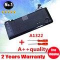 """Бесплатная доставка 10.95 В / 63.5wh A1322 аккумулятор для ноутбука APPLE MacBook Pro 13 """" MB990LL / MB991LL / MC374LL / A1278 MC700"""