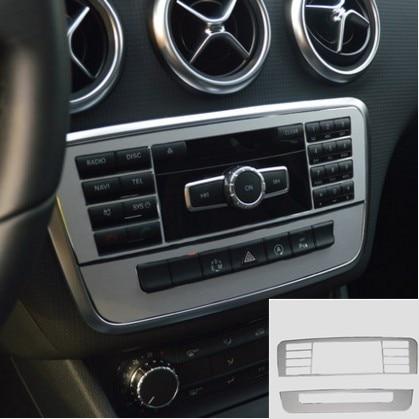 2PCS Console Control Button Cover Trim for Mercedes Benz A B GLA Class W176 2013 2014 2015 W246 2012 2013 2014 X156 2015 элитные морские яхты 2013 2014