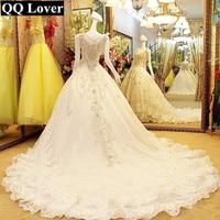 Super Sexy Deep V Neck Wedding Dress Bridal Gown Vestido De Novia U0072
