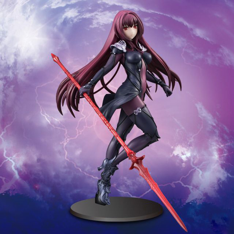 ZXZ Fate/Stay Night 18cm Fate Grand Order Lancer Scathach Sexy Model Doll Japanese Cartoon Anime Figure Gift Doll Toy цена и фото