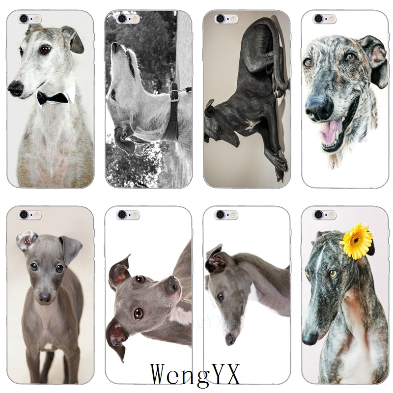 Galgo Greyhound Dog Ultra Thin TPU Soft phone cover case For Samsung Galaxy S3 S4 S5 S6 S7 edge S8 S9 Plus mini Note 3 4 5 8