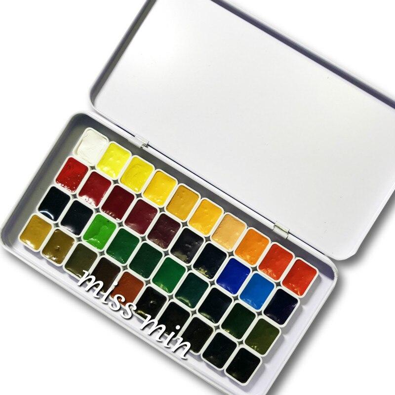 holanda aquarela pintura 08ml mini embalagem 04