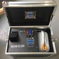 2 шт./лот 1500 Вт дымка Тумана машина для сцены световой эффект с кейс пульт дистанционного управления для dj оборудование