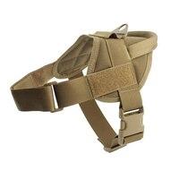Taktyczna kamizelka dla psa polowanie wojskowe K9 szelki treningowe zwierzęta kamizelka wodoodporna uprząż treningowa dla psa serwisowego w Kamizelki myśliwskie od Sport i rozrywka na