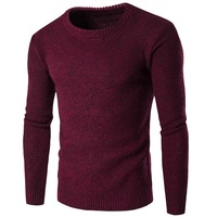 High Quality Mens Polo Sweater 2019 Brand Designer Imported Knitted O neck Sweater Men Clothing Slim Fit Wool Swearter Men B125