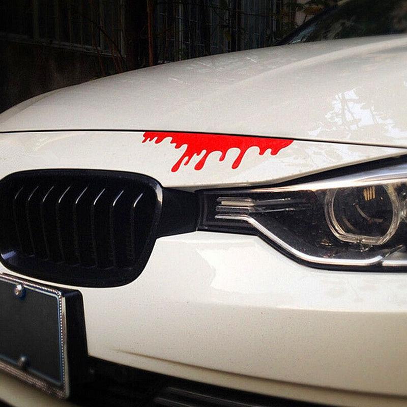 New 2016 hot blood bleeding car stickers reflective car decals rear front headlight sticker door window car body 1pcs on aliexpress com alibaba group