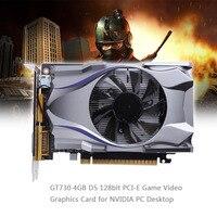 1Pcs GT730 4GB D5 128bit PCI E Game Video Graphics Card For NVIDIA PC Desktop
