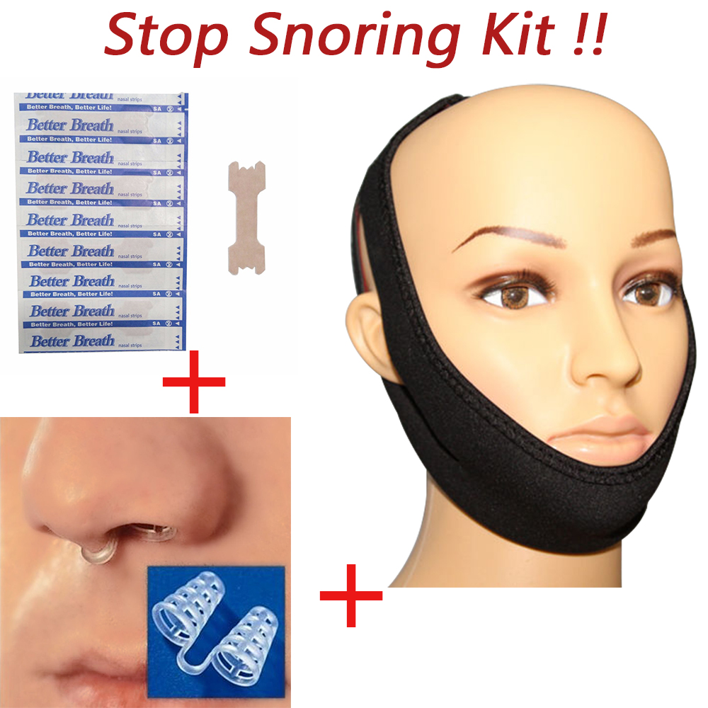 Anti Snoring Devices Stop Snoring Sleeping Aid Stop Snore Ring kits Good Sleep