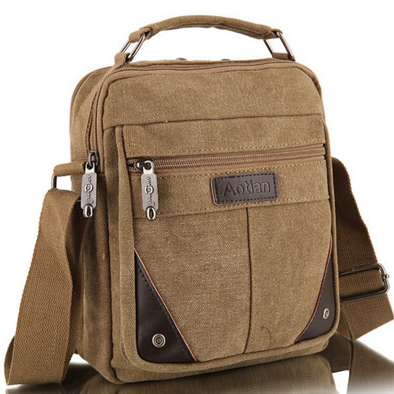 Canvas shoulder bags for men online shopping-the world largest ...