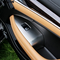 4pcs For Buick LaCrosse 2016 ABS Chrome Interior Door Window Switch Botton Knob Car Accessories