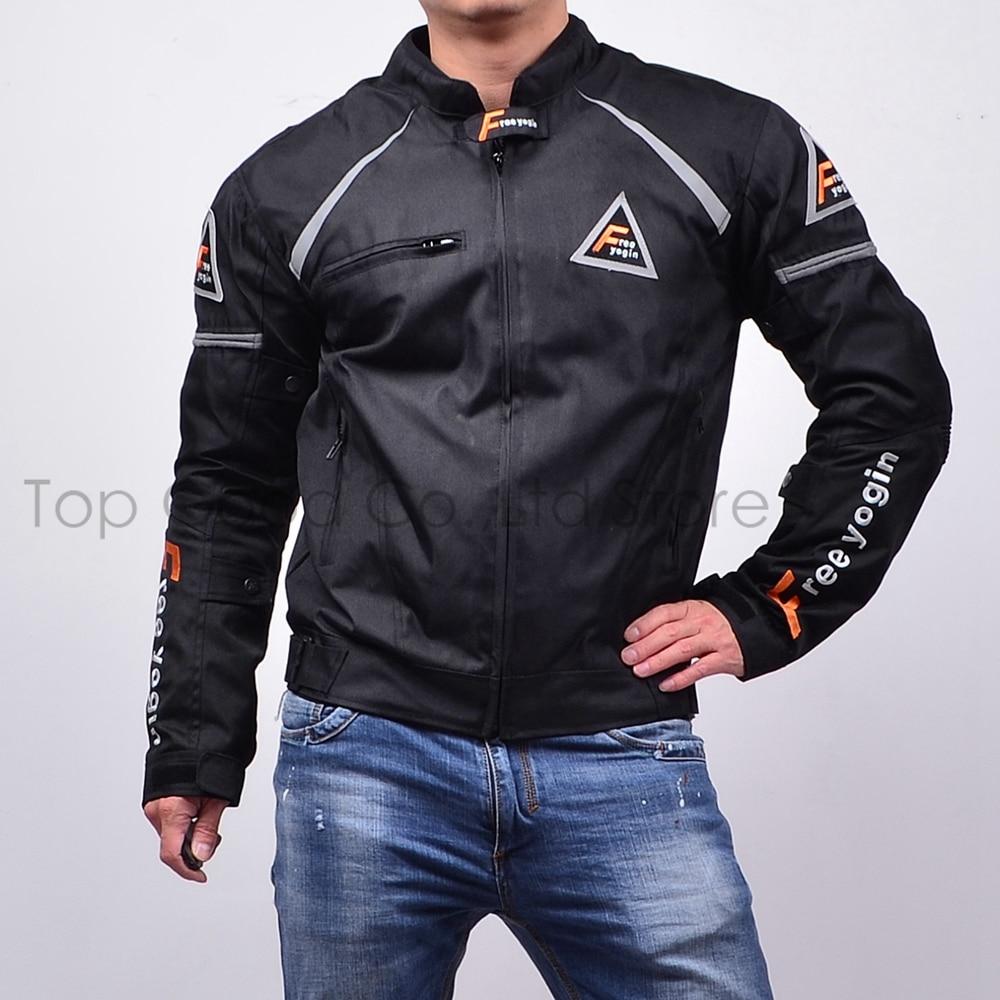 Топ хороший мотоциклами куртка высокая производительность гонки костюмы теплый Ветрозащитный куртки четыре сезона можно использовать 2 в 1 броня 5шт НЖ-409