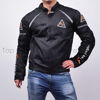 Top Good Motorcycles Jacket High Performance Racing Suits Windproof Warm jackets four seasons can use 2 in1 & 5pcs armor NJ-409