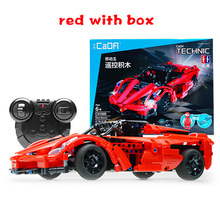 Technic City Series Racing RC Car Model Building Blocks Bricks Sets Remote Control Sports Cars Toy Compatible with