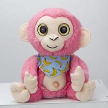 Plush Monkey Toy Electric Record Monkey Simulation Toy