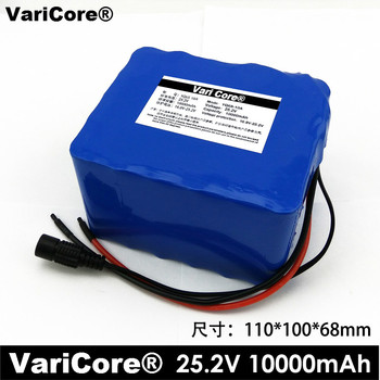 VariCore 6S5P 18650 24V 10Ah Li-ion Battery 25.2V 10000mAh Moped Bicycle Electric / Electric / Lithium Battery Pack Ion Battery
