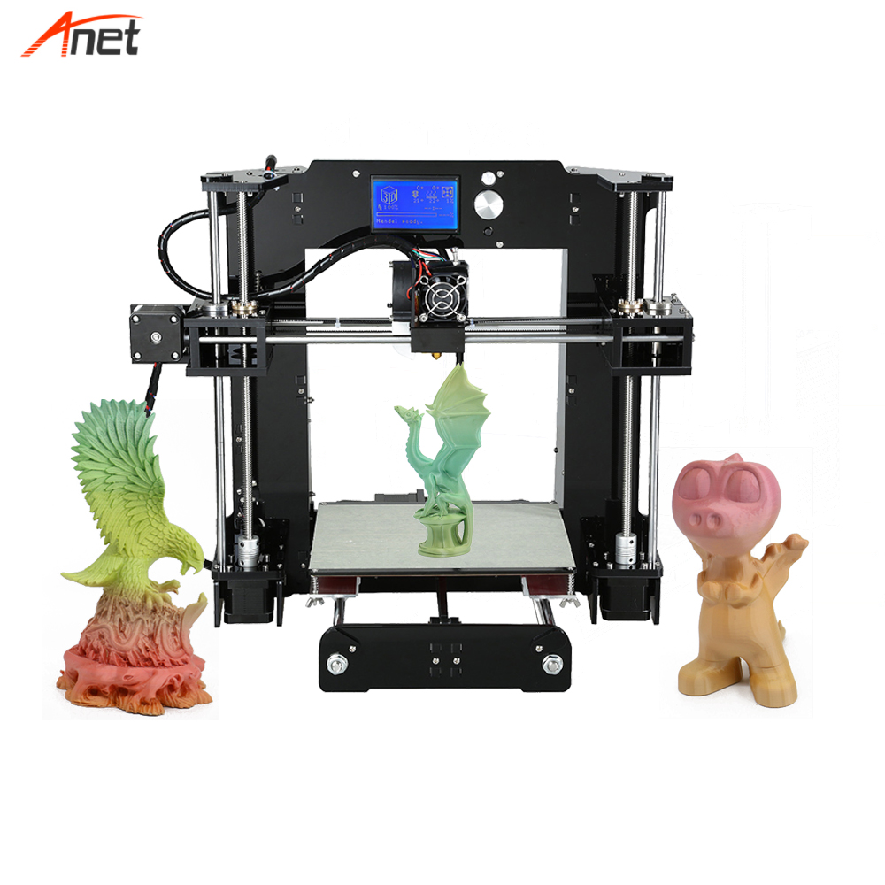 Anet A6 High Resolution Single Extruder 3d Printer For School Nozzle 3d Printing China Supplier FDM 3d Printer Impressora 3d china supplier hot selling fudream 3 d printer for metal made in china 3d printer desktop 3 d printer impresora 3d for sale