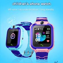 New Smart Watch Waterproof Smart Watch SOS Touch Screen Phone Call Location Locator Smart Watch Device Anti-Lost Children(China)