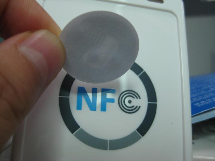 Security & Protection The Best 1000pcs/lot Blank White Round Small 25mm Ntag213 Rfid Nfc Tag Compatible With All Nfc Phone