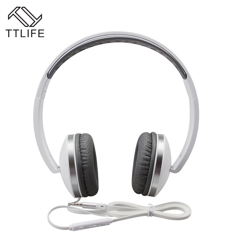TTLIFE Brand Gaming Earphones and Headphone Foldable Brand Wired Headsets Headphones Mp3 Bass Ear Phone Earbud for Computer PC sound intone ms200 headphones headsets for phone computer mp3 bass high quality earphones foldable brand wired pc headphone