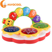 MINOCOOL Multi Functional Baby Kids Pat Drum Children Early Education Musical Toys Gift