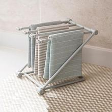 1pc Foldable Dishcloth Towel Storage Rack Holder Towel Rack Hanger Organizer Kitchen Bathroom Bottle Dry Rack Cup Drain Stand