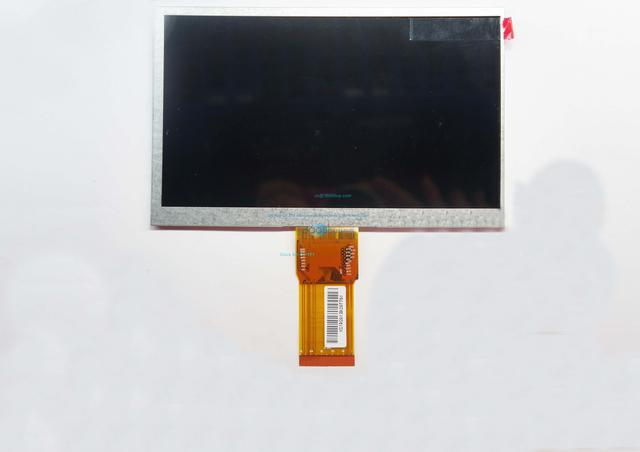 7300101463 E231732 HD lcd screen Original 7 inch 163*97mm LCD display screen for cube U25GT tablet PC 1024 * 600