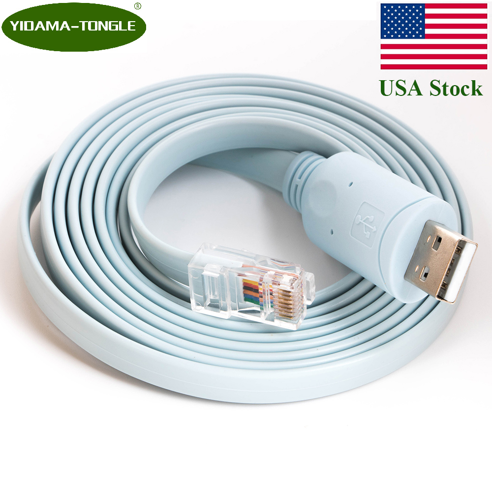 Mosunx Cables Usb Type C To Rj45 Cisco Console 3 Meter Cable Ftdi Wiring Diagram 18m For Huawei Router Switch Windows 8 7